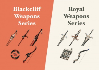 Genshin Impact: Blackcliff VS Royal Weapons