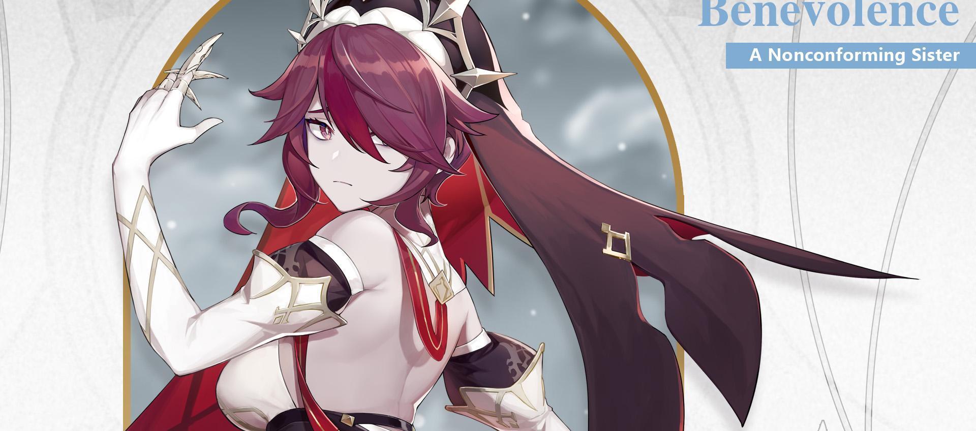 Genshin Impact A Rosaria Build Guaranteed to be the Last Thing ...