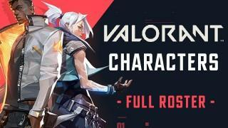 All Valorant Characters (2020) - Full Roster List